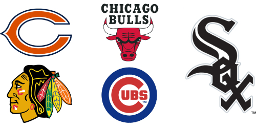 Chicago Sports: Bears, Bulls, Blackhawks, Cubs, White Sox